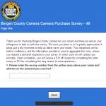 www.bergencountycamera.com/survey - Bergen County Camera Customer Survey