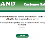 www.cashlandlistens.com - Cashland Customer Satisfaction Survey