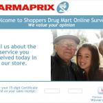 www.sondagepharmaprix.com - Pharmaprix Online Customer Survey