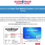 www.sleeptrainlistens.com - Sleep Train Mattress Centers Guest Satisfaction Survey
