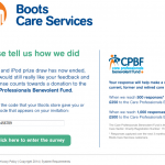 www.bootscareservices.com - Boots Care Services Customer Survey