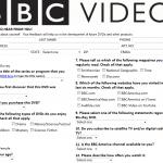 www.bbcsurveys.com - BBC Video Survey