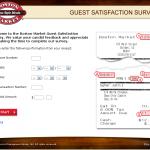 www.tellbostonmarket.com - Boston Market Guest Satisfaction Survey