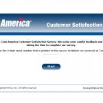 www.tellcashamerica.com - Cash America Customer Satisfaction Survey