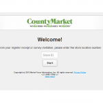 www.countymarketfeedback.com - County Market Customer Survey
