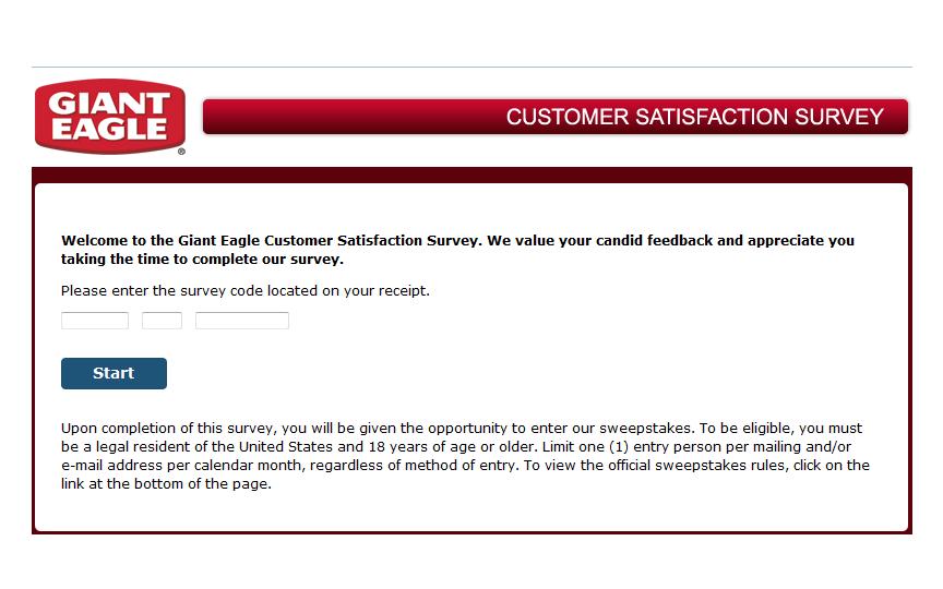 www.gianteaglelistens.com - Giant Eagle Guest Satisfaction Survey