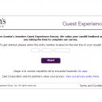 www.gordonssurvey.com - Gordon's Jewelers Guest Experience Survey