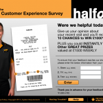 www.tellhalfords.com - Halfords Customer Satisfaction Survey