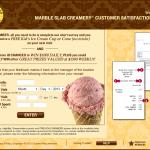 www.tellmarbleslab.com - Marble Slab Creamery Customer Satisfaction Survey