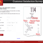 www.mcdonaldsfeedback.com - McDonald's Customer Satisfaction Survey
