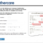 www.mymothercare.ie - Mothercare Ireland Customer Satisfaction Survey