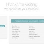 www.mysalonlistens.com - RegisCorp Customer Satisfaction Survey