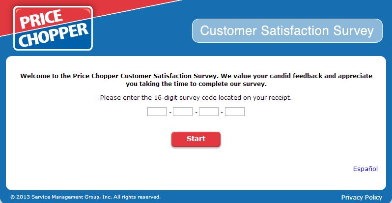 www.mypricechoppervisit.com - Price Chopper Customer Satisfaction Survey