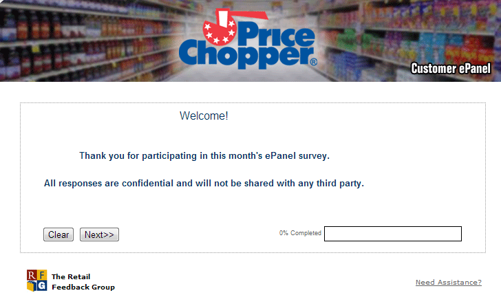 www.pcfbpanel.com - Price Chopper ePanel Survey