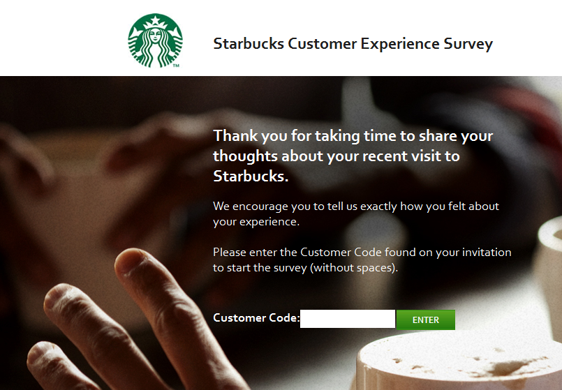 www.mystarbucksvisit-my.com - Starbucks Customer Experience Survey