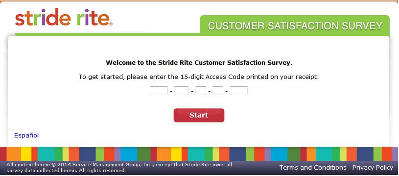 www.talktostriderite.com - Stride Rite Customer Satisfaction Survey