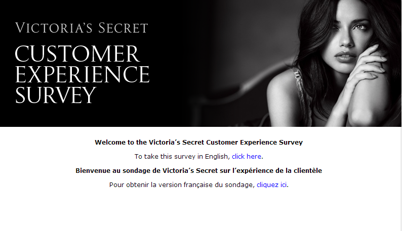 www.vsfeedback.ca - Victoria's Secret Canada Customer Experience Survey