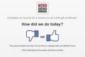 hero.guestfeedback.ca - Hero Certified Burgers Customer Satisfaction Survey