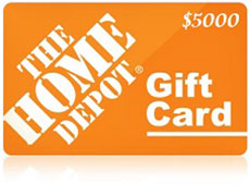 www homedepot com/opinion - $5,000 The Home Depot Gift Card