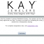 survey.kay.com - Win survey.kay.com, Kay Jewelers Customer Satisfaction Survey,000 Kay Jewelers Gift Card Survey