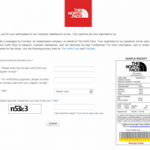 www.thenorthface.com/retailsurvey - The North Face Customer Satisfaction Survey