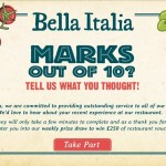www.bellaitalia-feedback.com - Bella Italia Customer Feedback Survey