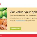 www.HornBachersListens.com - Hornbacher's Listens Customers Survey