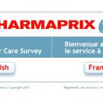 www.Pharmaprixsondage.com - Pharmaprix Online Survey