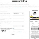 www.adidas.com/feedback - Adidas Customer Satisfaction Survey