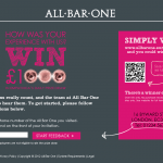www.allbarone-survey.co.uk - All Bar One Customer Survey