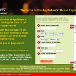 www.applebees.com/survey - Applebee's Guest Experience Survey