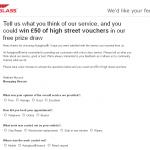 www.autoglassfeedback.co.uk - Autoglass Customer Survey