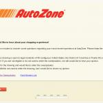 www.autozonecares.com, $10,000 AutoZone Cares Guest Survey