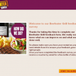 www.beefeatergrillfeedback.co.uk - Beefeater Grill Feedback Survey