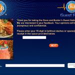 www.dandb-survey.com - Dave & Buster's Guest Survey