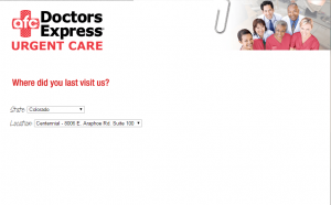 www.doctorsexpresslistens.com - Doctors Express Guest Survey