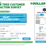 www.dollartreefeedback.com, $1,000 Dollar Tree Feedback