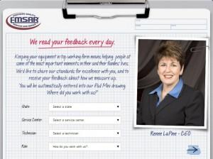www.emsarlistens.com - EMSAR Customer Feedback Survey