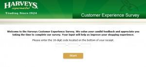 www.harveyssurvey.com, $450 Harveys Customer Satisfaction Survey