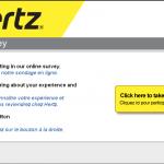 www.hertzsurvey.ca - Hertz Canada Customer Survey