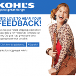 www.kohls.com/survey - Kohl's In-Store Survey