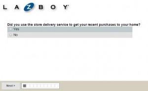 www.lzb-delivery.com - La-Z-Boy Delivery Survey