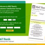 www.mandtbanksurvey.com - M&T Bank Survey