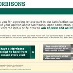 www.morrisonsfeedback.co.uk - £500 Morrisons Customer Satisfaction Survey