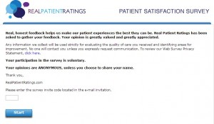 www.mydoctorlistens.com - Patient Satisfaction Survey