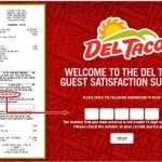 myvisit.deltaco.com - Del Taco Guest Satisfaction Survey