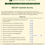 www.necap.com/customer-survey.htm - New England Capitol Mortgage Customer Survey