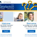 www.opinion.rona.ca, $1,000 RONA Customers Survey
