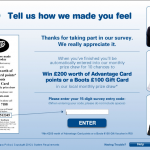 www.ourbootsfeedback.co.uk - £200 Boots Customer Survey
