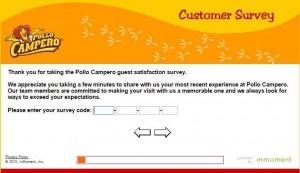www.pollocamperosurvey.com - Pollo Campero Guest Satisfaction Survey